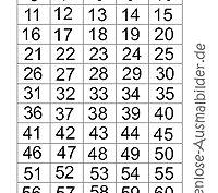 bingo mit zahlen