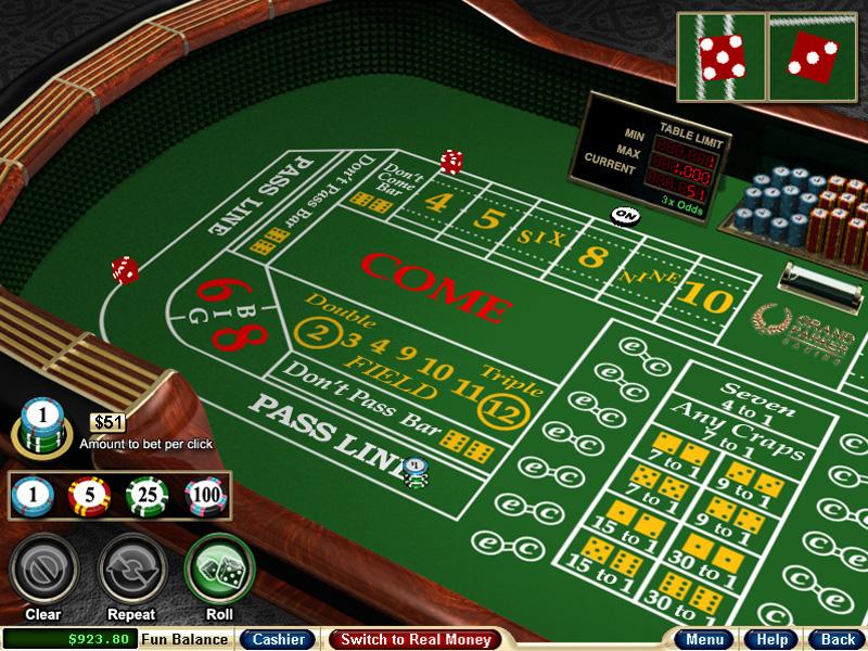 Craps casino - casinospieleking
