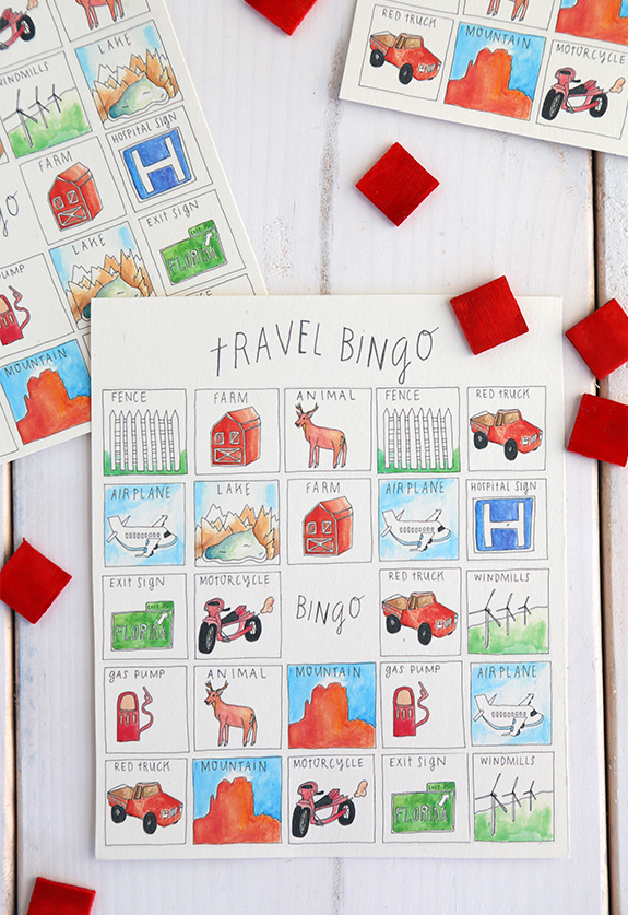 diy bingo game